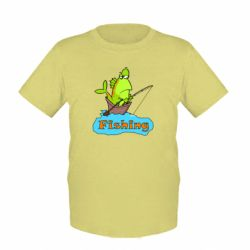 Детская футболка Fish Fishing