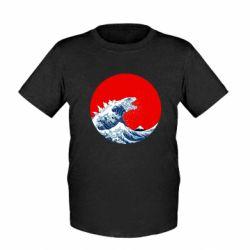 Дитяча футболка Godzilla Wave