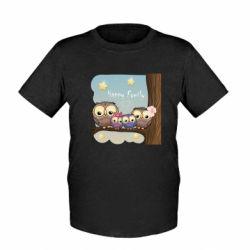 Дитяча футболка Happy family