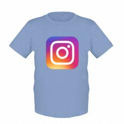 Дитяча футболка Instagram Logo Gradient