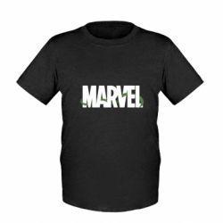 Детская футболка Marvel logo and vine