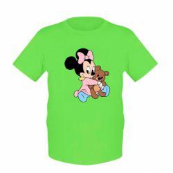 Дитяча футболка Minnie And Bear