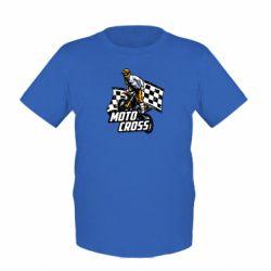 Детская футболка Motocross