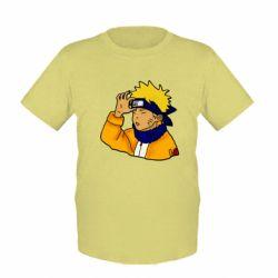Детская футболка Narutooo