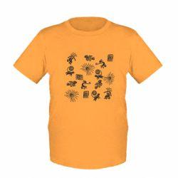 Дитяча футболка Наскальний Живопис