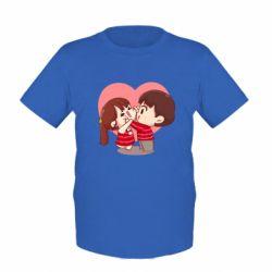 Дитяча футболка Парочка. Які щічки