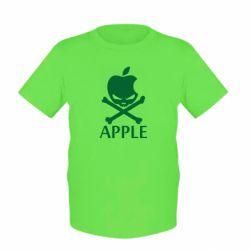 Детская футболка Pirate Apple