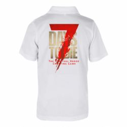 Дитяча футболка поло 7 Days To Die