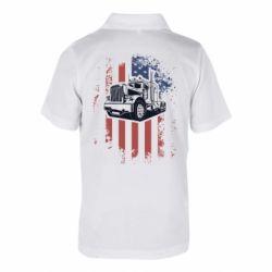 Дитяча футболка поло American Truck