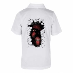 Дитяча футболка поло Colossal titan