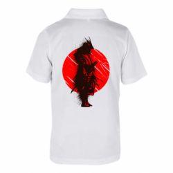 Дитяча футболка поло Samurai spray