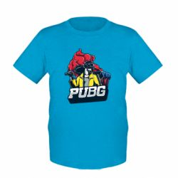 Дитяча футболка Pubg art 1
