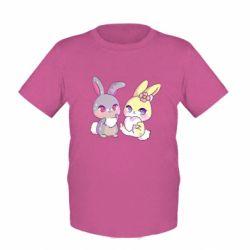 Дитяча футболка Rabbits In Love