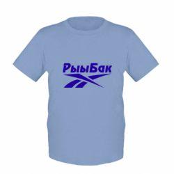 Дитяча футболка Reebok РыыБак