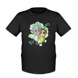 Дитяча футболка Rick and Morty voodoo doll