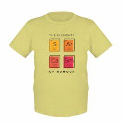 Дитяча футболка Sarcasm