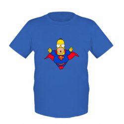 Детская футболка Simpson superman