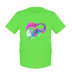Дитяча футболка Sisu Water Dragon