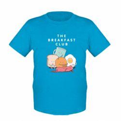 Дитяча футболка The breakfast club