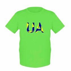 Детская футболка UA Ukraine
