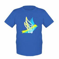 Дитяча футболка Україна Ластівка