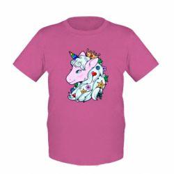 Дитяча футболка Unicorn Princess