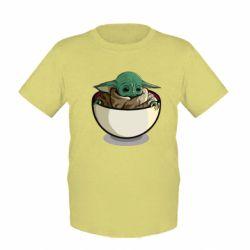 Дитяча футболка Йода