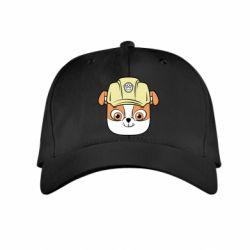 Дитяча кепка Dog in helmet