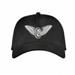 Дитяча кепка Колесо та крила