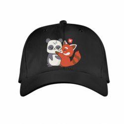 Дитяча кепка Panda and fire panda