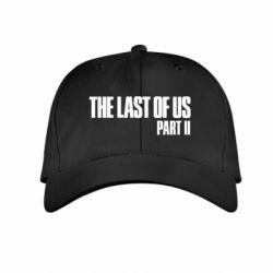 Детская кепка The last of us part 2 logo
