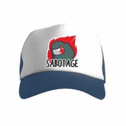 Дитяча кепка-тракерAmong Us Sabotage