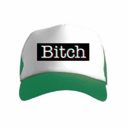 Детская кепка-тракер Bitch glitch