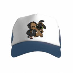 Детская кепка-тракер Groot And Toothless