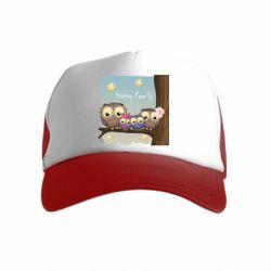 Дитяча кепка-тракер Happy family