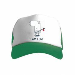 Дитяча кепка-тракерI am lost