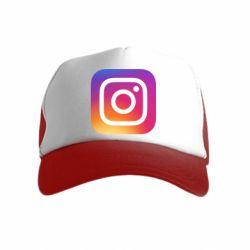 Дитяча кепка-тракер Instagram Logo Gradient