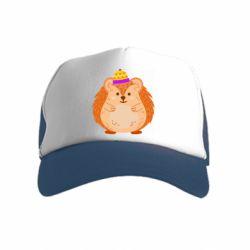Дитяча кепка-тракер Little hedgehog in a hat