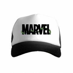 Детская кепка-тракер Marvel logo and vine