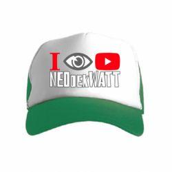Дитяча кепка-тракер I Watch NEOdekWATT