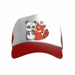 Дитяча кепка-тракерPanda and fire panda
