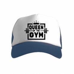 Дитяча кепка-тракер Queen Of The Gym