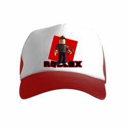 Детская кепка-тракер Roblox Builderman