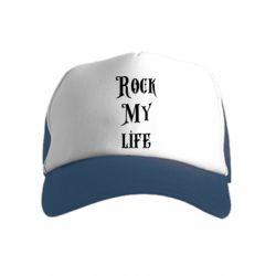 Детская кепка-тракер Rock my life