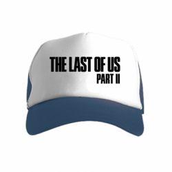 Детская кепка-тракер The last of us part 2 logo