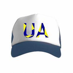 Детская кепка-тракер UA Ukraine