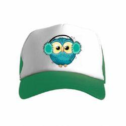 Детская кепка-тракер Winter owl