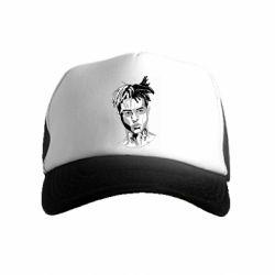 Детская кепка-тракер XXXTentacion Monochrome Art