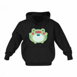 Дитяча толстовка на флісі Baby frog