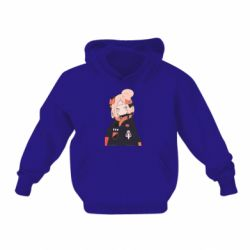 Дитяча толстовка на флісі Girl in a jacket